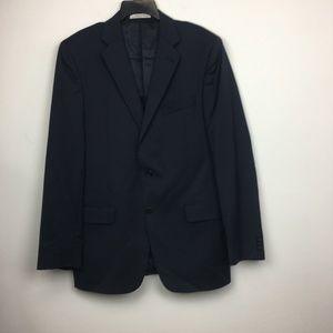 Joseph Abbout Modern Fit Black 100% Wool Blazer